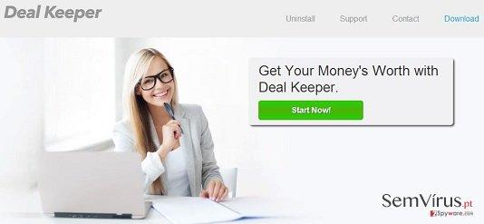 Deal Keeper virus instantâneo