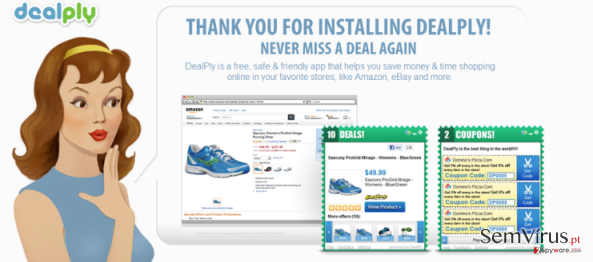 DealPly virus instantâneo