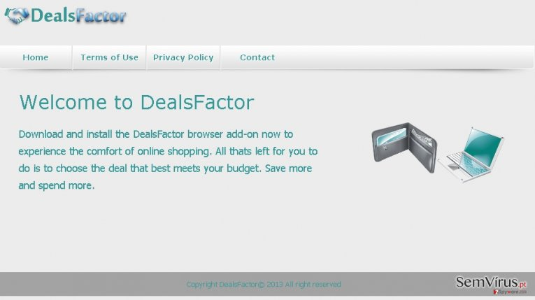 DealsFactor virus instantâneo