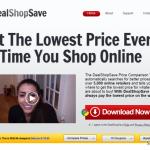 Anúncios de DealShopSave instantâneo
