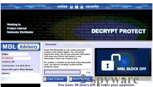 Decrypt Protect virus instantâneo