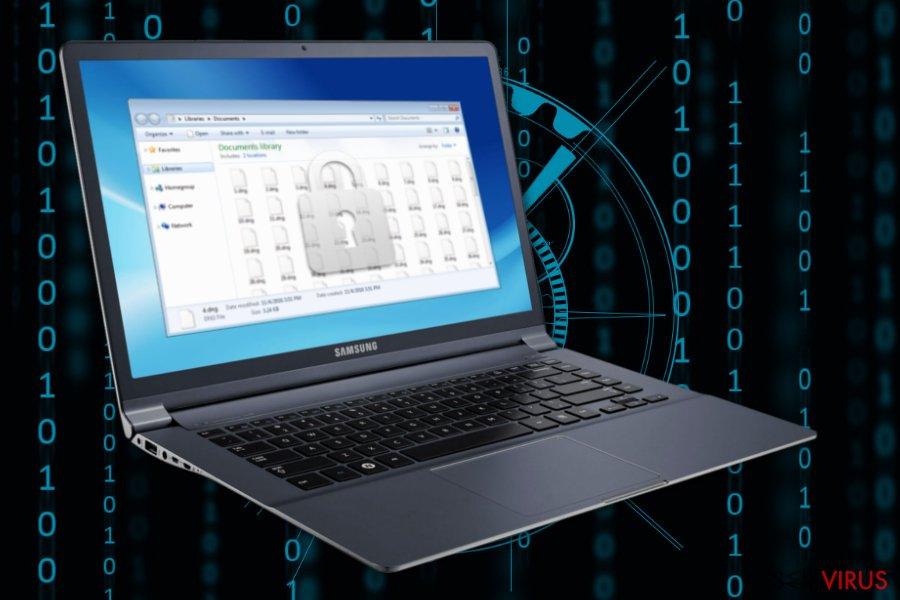 Imagem do ransomware Decrypthelp@qq.com
