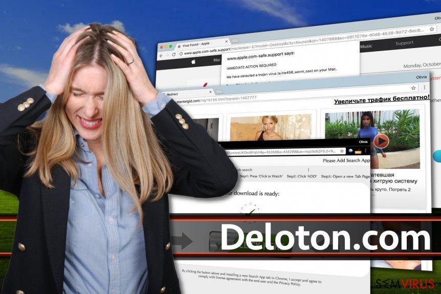 Anúncios do Deloton.com