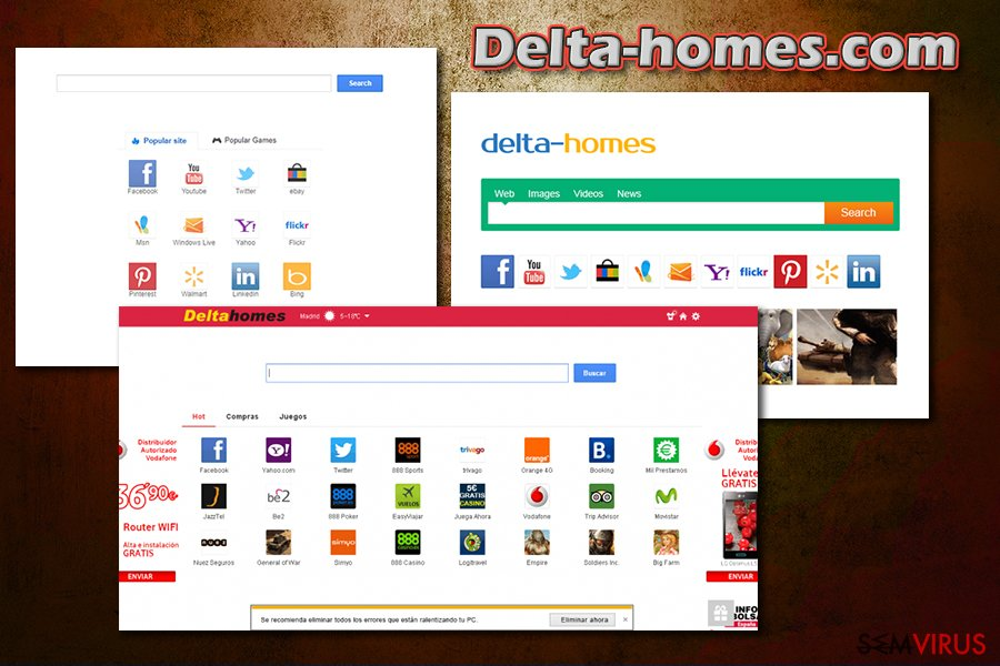 Delta-homes.com instantâneo