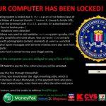 Your computer has been locked instantâneo