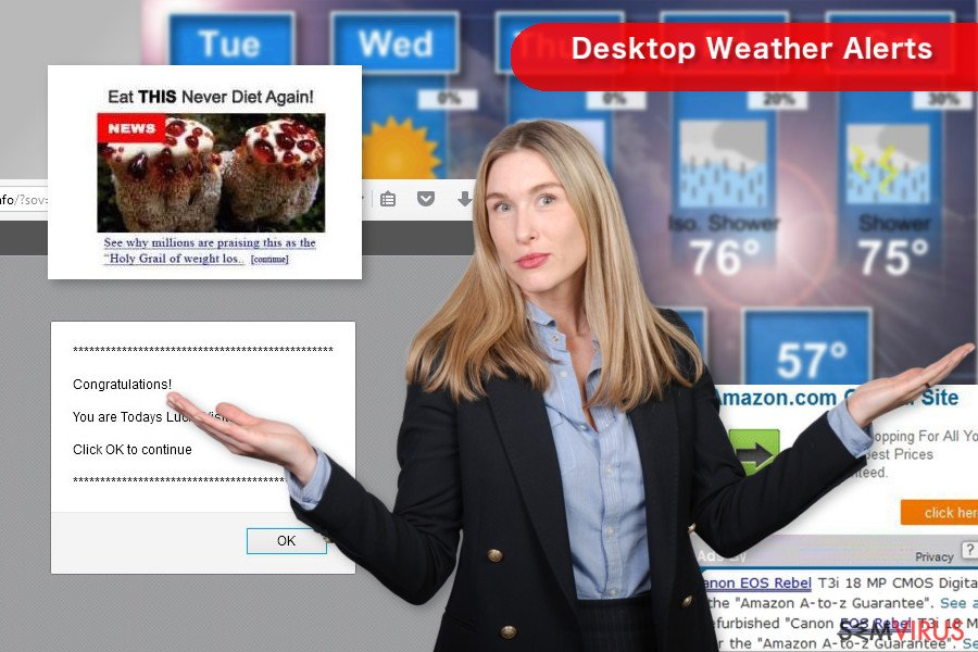Desktop Weather Alerts instantâneo