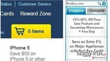 Anúncios de DiscountPlace instantâneo