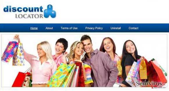 Anúncios de Discount Locator instantâneo