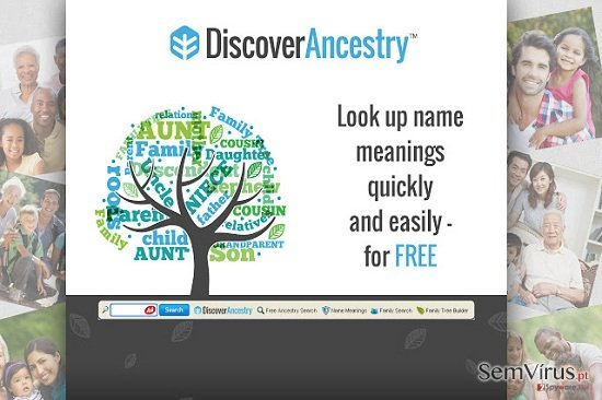 DiscoverAncestry Toolbar instantâneo