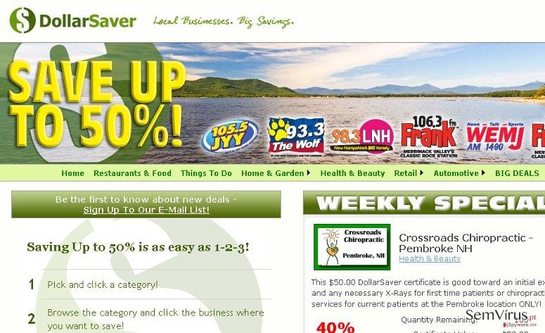 Dollar Saver anuncios instantâneo