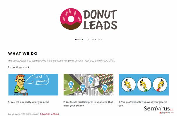 Anúncios por DonutQuotes instantâneo