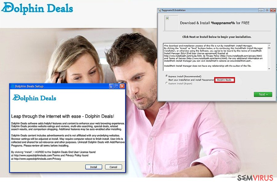 Dolphin Deals Ads