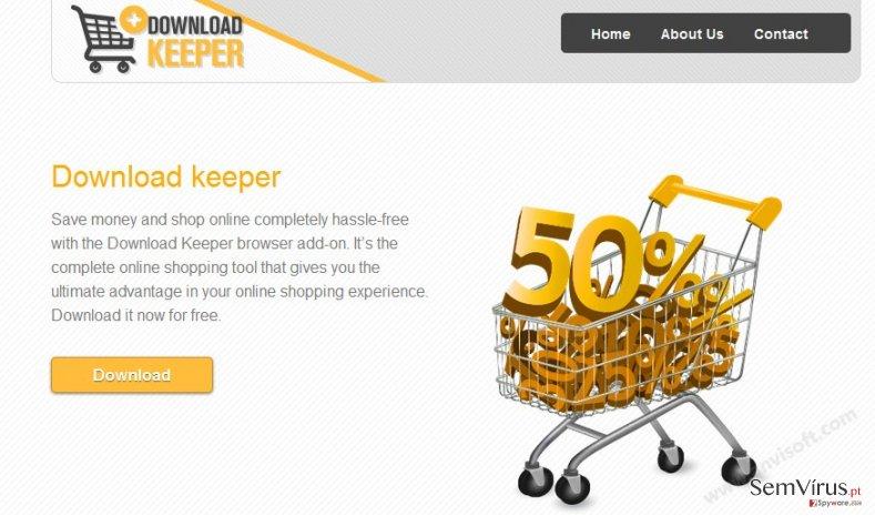 Anúncios por Download Keeper instantâneo
