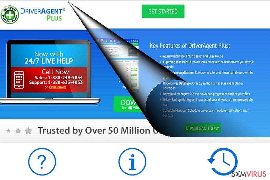 O exemplo do DriverAgent Plus