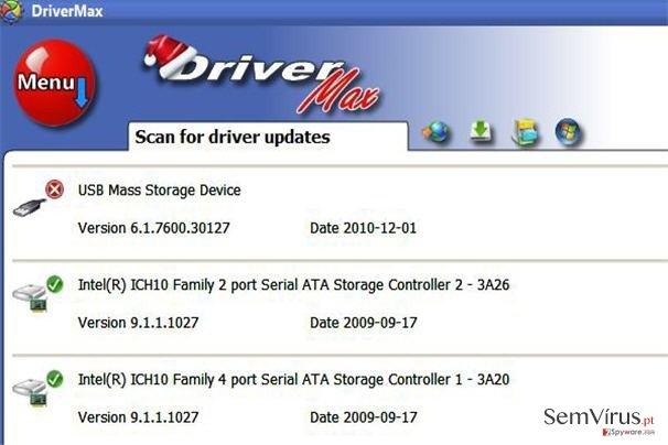 DriverMax instantâneo