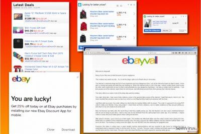 Variantes do vírus eBay