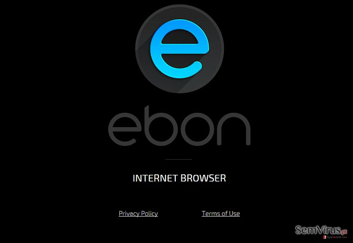 Ebon Browser virus instantâneo
