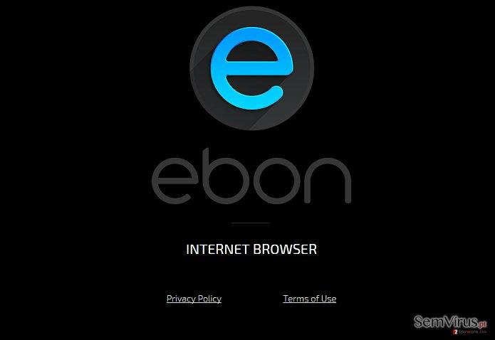 Ebon Browser adware