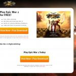 Anúncios de Epic War 2 instantâneo