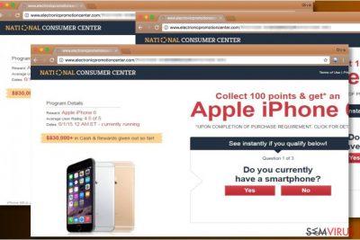Anúncios do National Consumer Center