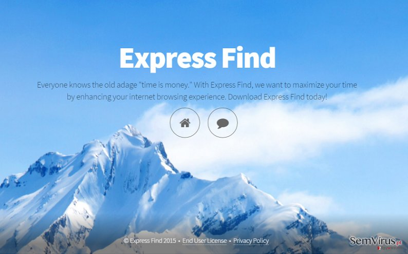 Anúncios de Express Find instantâneo