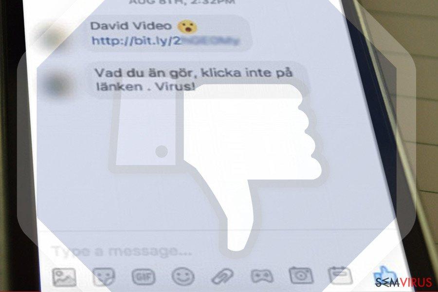 Facebook Message virus