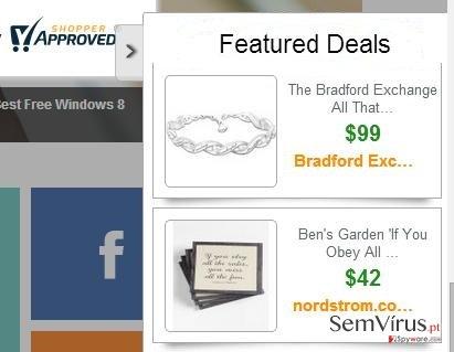Anúncios por Featured Deals instantâneo