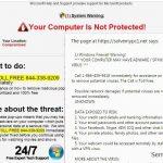 """Firewall Warning"" Pop up instantâneo"