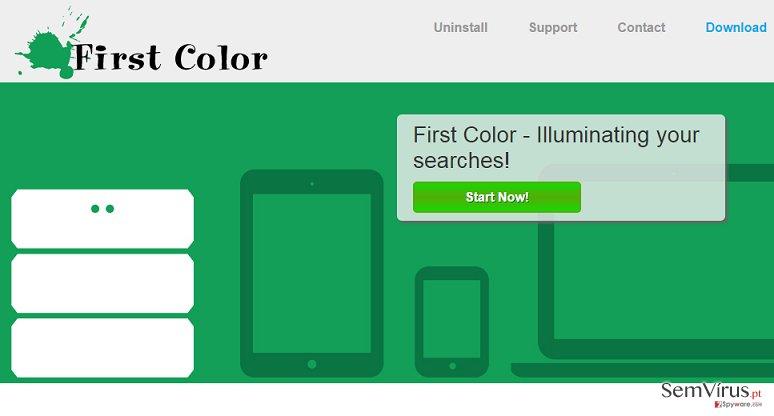 First Color anúncios instantâneo