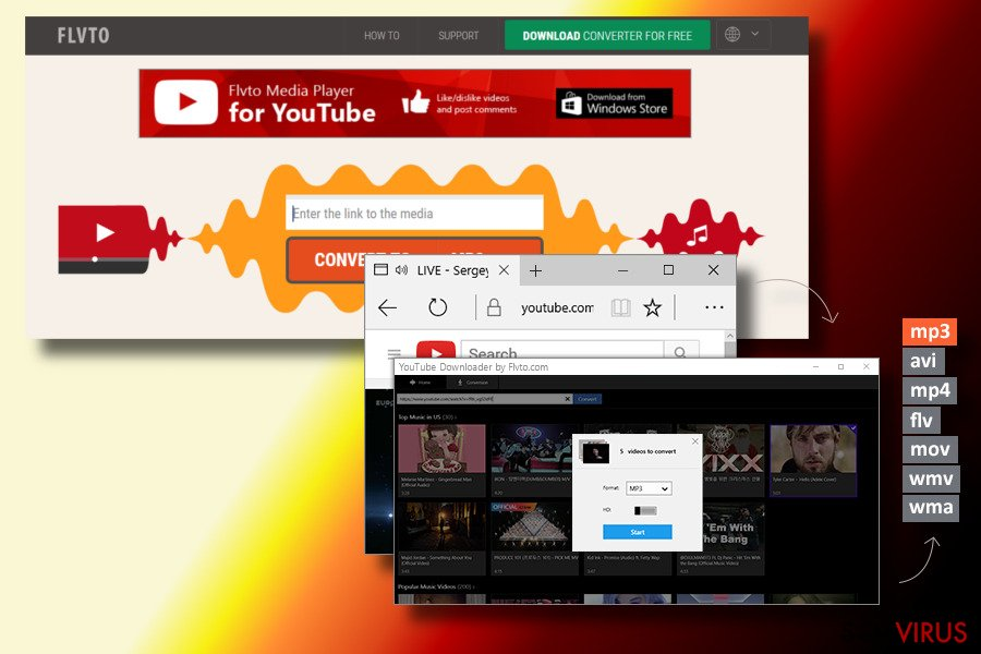Removendo o flvto youtube downloader guia gratuito fev 2018 definio do flvto youtube downloader stopboris Choice Image