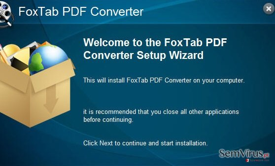 FoxTab Pdf Converter instantâneo