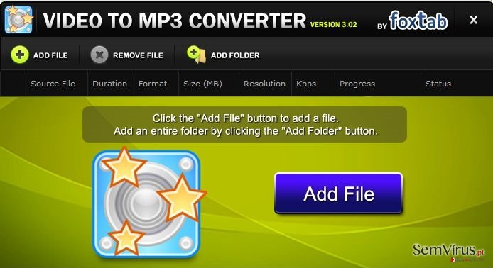 FoxTab Video Converter instantâneo