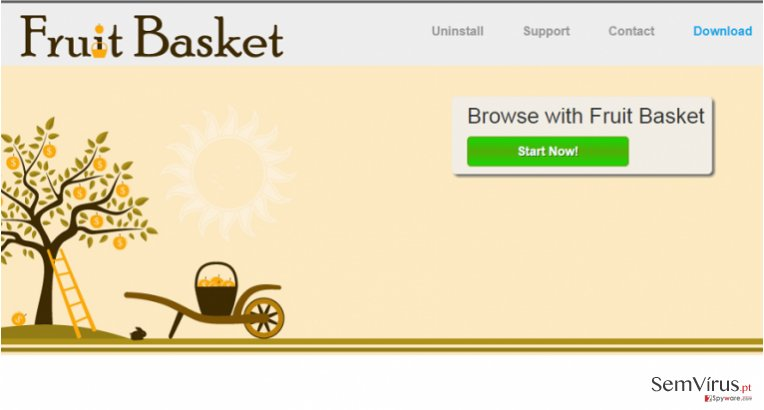 Fruit Basket anúncios instantâneo
