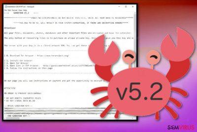 Ransowmare GandCrab 5.2