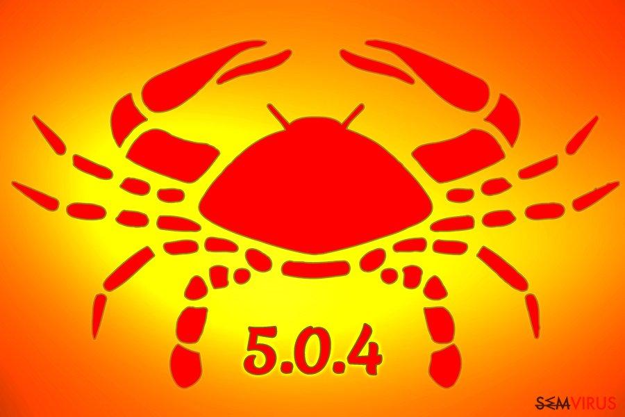 Ransomware GandCrab 5.0.4