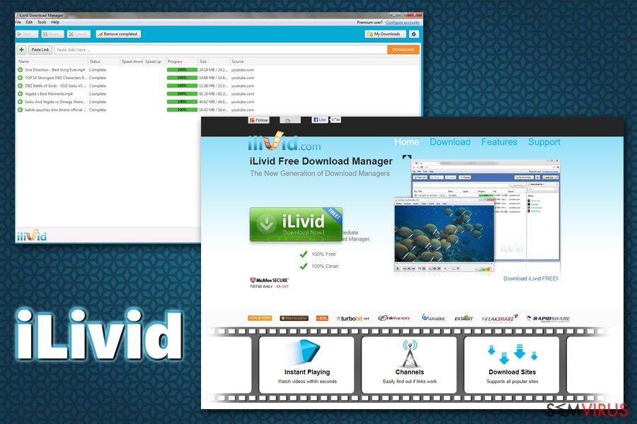 iLivid virus instantâneo