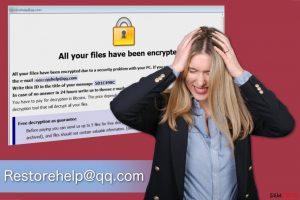 Ransomware Restorehelp@qq.com