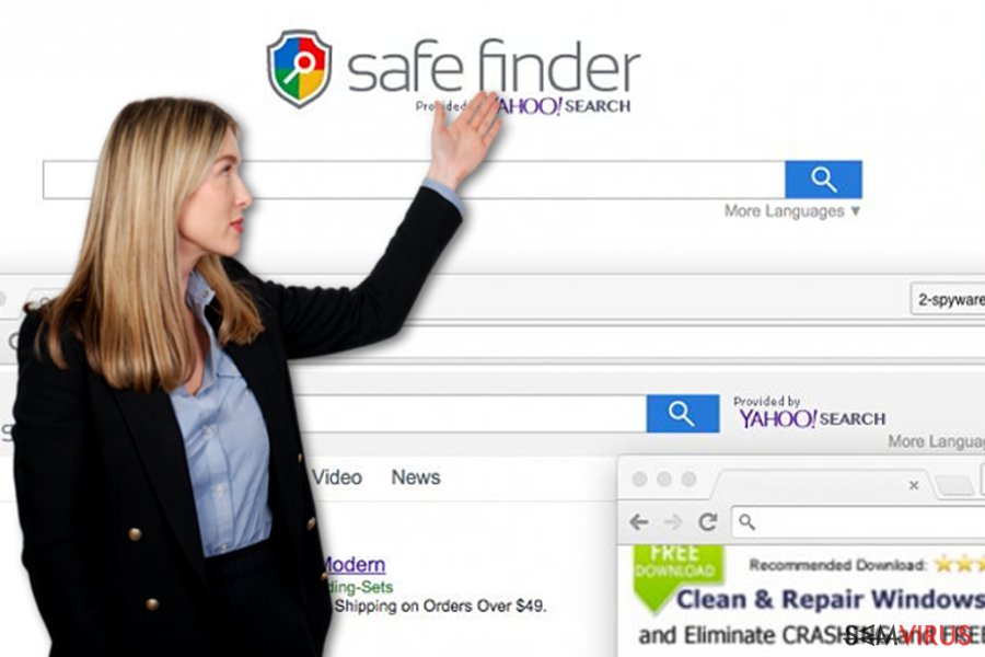 Safe Finder virus instantâneo