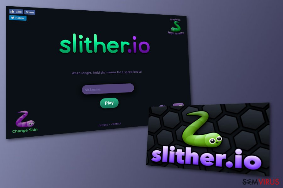 Adware Slither.io
