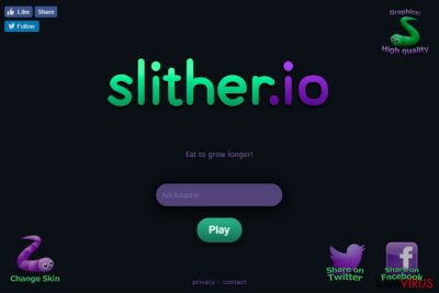 PUP Slither.io