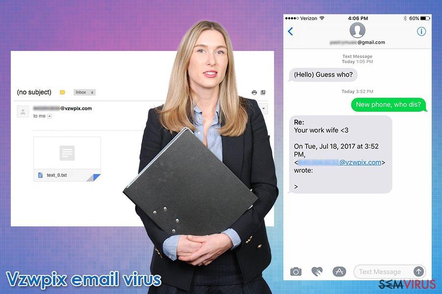 Fraude por e-mail Vzwpix