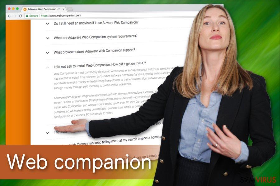 Ilustração do Web Companion